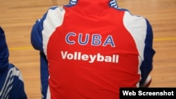 Cuba, voleibol. Foto: youtube.com