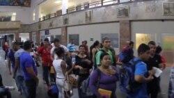 Cubanos en Panamá viajarán a México aunque no tengan dinero