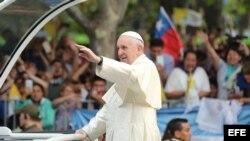 El papa Francisco visita Chile