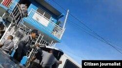 Allanan sede UNPACU Foto de Liudmila Cedeño