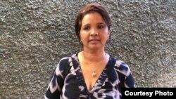 La economista y activista Karina Gálvez Chiu. Foto tomada de Facebook Centro de Estudios Convivencia