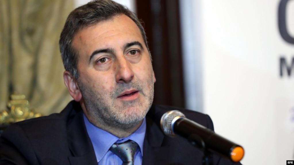 El relator especial para la Libertad de Expresión de la Comisión Interamericana de Derechos Humanos, Edison Lanza. (Archivo)