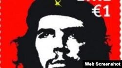 """Sello con imagen de Ernesto """"Che"""" Guevara en Irlanda genera polémica."""