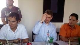 Encuentro de blogueros cubanos con delegación estadounidense