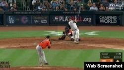 Gary Sánchez contribuye a la causa de los Yankees.