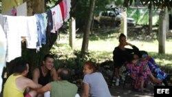 Cientos de cubanos se encuentran refugiados en varias iglesias de la capital panameña y en la sede de Cáritas.
