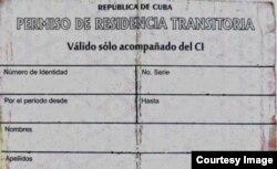 No es nada fácil obtener este documento. Sin él, cualquier ciudadano cubano no residente en La Habana enfrentará problemas con la ley. (Foto del Autor)