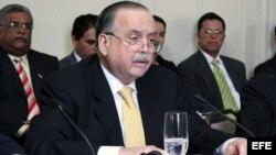 Archivo - El embajador de Panamá ante la Organización de los Estados Americanos (OEA), Guillermo Cochez.