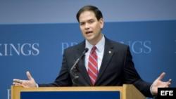 Foto de archivo del senador republicano de Florida, Marco Rubio.
