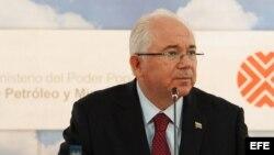 El presidente de Petróleos de Venezuela (PDVSA), Rafael Ramírez.