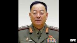 General del Ejército norcoreano Hyon Yong-chol.