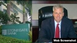 El presidente del Banco Stonegate, Dave Seleski.