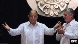 Luis Guillermo Solís de visita en La Habana