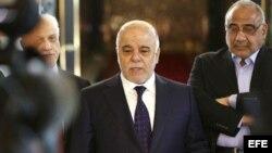 El primer ministro iraquí, Haidar al Abadi