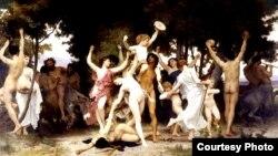"""""""La juventud de Baco"""", por William-Adolphe Bouguereau (1825-1905)"""