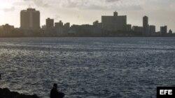 El malecón de La Habana, Cuba. Archivo