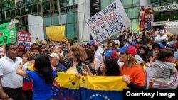 José Antonio Colina, líder de Veppex, organizador de la manifestación el 20 de mayo en Miami.