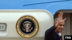 Los últimos minutos de Obama en Cuba
