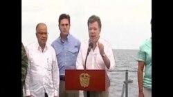 Presidente de Colombia promete defender las Islas San Andres contra Nicaragua