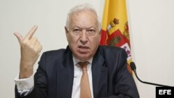 El ministro español de Asuntos Exteriores, José Manuel García-Margallo.