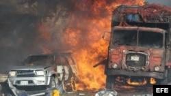 Ataque terrorista en Somalia.