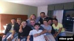 Once cubanos de Las Tunas habrían sido secuestrados por traficantes de personas en Reynosa. (Captura imagen: Mega TV)