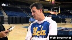 Steve Alford, entrenador de UCLA.