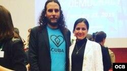 1800 Online con el escritor Orlando Luis Pardo Lazo y la activista Rosa María Payá