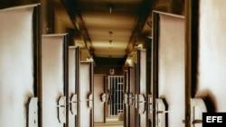 Las habitaciones de los interrogatorios de la Stasi, la policía política de la RDA.