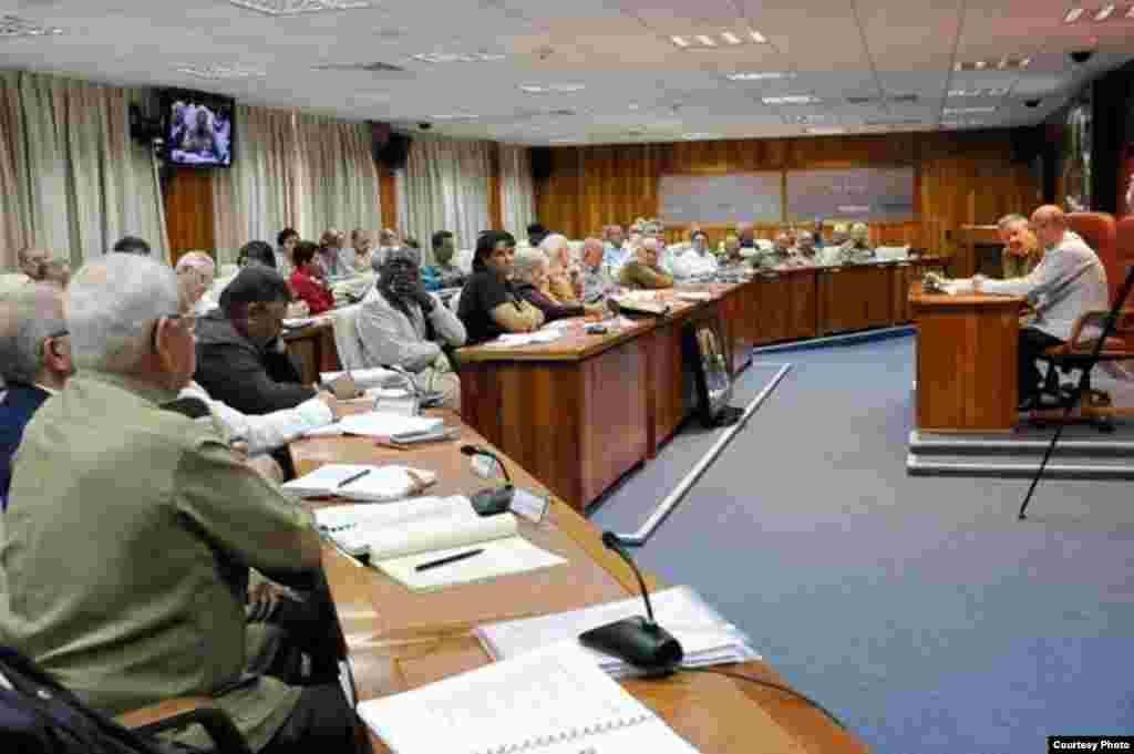 Consejo de Ministros en Cuba