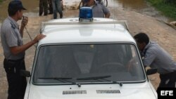 Foto de archivo de la policía cubana.