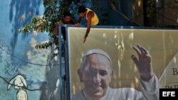 Preparativos para la visita del Papa a Cuba.