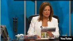 Programa de Telemundo Caso Cerrado que circula en memoria digital por Cuba