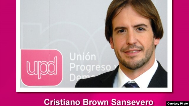 Cristiano Brown de UPyD
