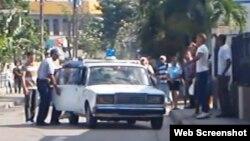 Cuba. Detenciones. Archivo.