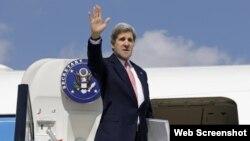 El secretario de Estado John Kerry concluye su visita a Cuba.