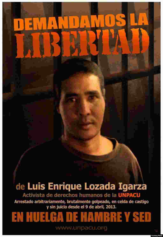 Campaña por la liberación de Luis Enrique Lozada Igarza
