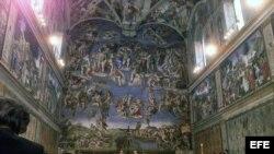 Capilla Sixtina en el Vaticano.