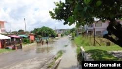 Calle en Guanabo/ foto Judith Muñiz Peraza