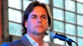 El senador uruguayo del Partido Nacional Luis Lacalle Pou.