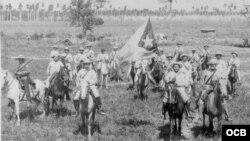ARCHIVO. Las tropas del Ejército Libertador.