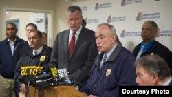 Conferencia de prensa de NYPD