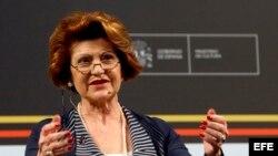 La comisaria europea de Cultura y Educación, Androulla Vassiliou.