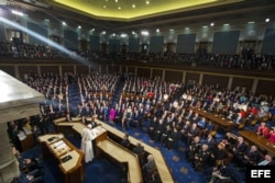 El papa Francisco durante su discurso en el Congreso de EEUU, en Washington DC (24 de septiembre, 2015).