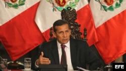 Ollanta Humala. Archivo.