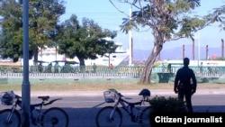 Reporta Cuba. Crucero llegando a Santiago de Cuba. Foto: @amelunpacu.