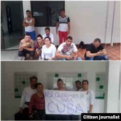 Cubanos en Cúcuta Foto enviada por Carlos Javier Díaz Rodríguez