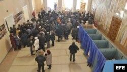 Elecciones en Ucrania este domingo 2 de noviembre.
