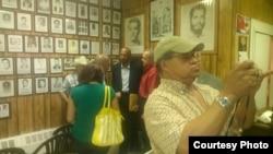 Guillermo Fariñas en Casa del Preso NJ foto cortesía de @jotaviz