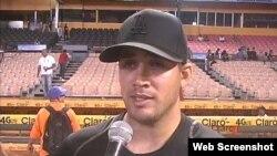 Norge Ruiz se fue de Cuba el año pasado y ya es agente libre, lo que le permite firmar con cualquier equipo en las Grandes Ligas.